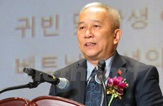 韩越友好协会向旅韩越南人社群赠送医用口罩