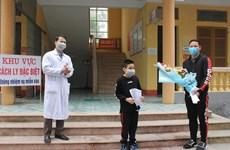 越南4月2日宣布另有12名新冠肺炎确诊患者治愈
