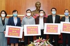全国各阶层人民为防治新冠肺炎疫情扩散捐赠近7000亿越盾