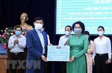 海外越南侨胞心系祖国情系家乡 捐赠物资抗击疫情