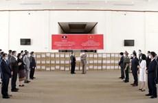 新冠肺炎疫情:老挝高度评价越南提供的援助