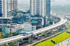 胡志明市槟城-仙泉地铁一号线项目完成率达70%