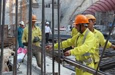 2020年第二季度越南建筑企业的劳动力需求继续下降