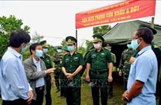 越南加强越老边境地区新冠肺炎疫情防疫工作