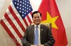 越南驻美国大使馆促进公民保护工作和越美新冠肺炎防控的合作