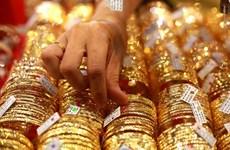 越南国内黄金价格上涨30万越盾
