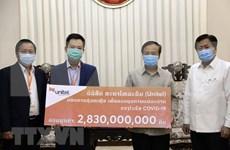 越南企业协助老挝应对新冠肺炎疫情