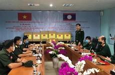 越南国防部派遣专家赴老挝援助新冠肺炎疫情防控工作