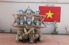 越南维和部队主动防控疫情
