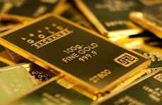 越南国内黄金价格下降30万越盾