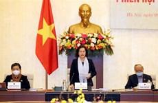 越南国会常委会召开特别会议 讨论援助遭受新冠肺炎疫情影响的居民问题