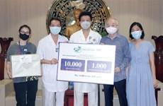 越南175号军医医院向德国莱比锡市一家医院提供防疫物资