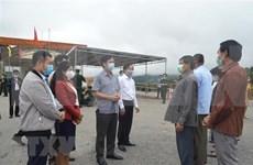新冠肺炎疫情:越南广治省与老挝沙拉湾省合作做好边界线上防疫工作