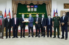 柬埔寨感谢越南政府和人民支援防疫物资