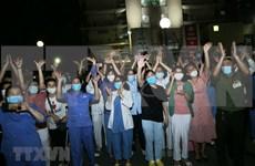 白梅医院完成14天的隔离期并恢复普通门诊