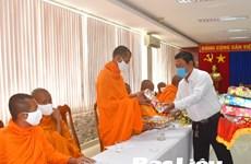 薄辽省高棉族同胞遵守防疫规定 喜迎传统新年