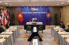 东盟抗击新冠肺炎疫情领导人特别会议发表联合声明
