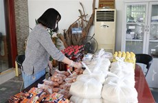 """幸福超市——在疫情""""寒冬""""中送去温暖的爱心活动"""