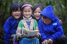 越南国际计划组织助力少数民族儿童免受疫情的影响