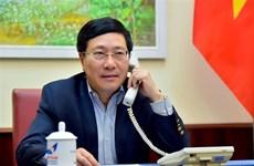 越南政府副总理兼外长范平明与澳大利亚外长通电话