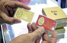 越南国内黄金价格下降10万越盾