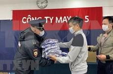 旅俄越南企业助力当地政府抗击新冠肺炎疫情