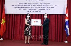越南向古巴提供5000吨大米援助