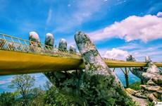 岘港市金桥被评为世界最美桥梁之一