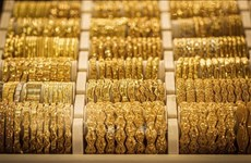 越南国内黄金价格下降15万越盾