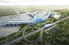 龙城机场项目的安置小区正式开工