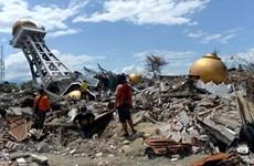 东盟继续援助印度尼西亚的地震海啸灾民