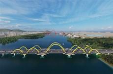 广宁省计划4月底动工兴建跨过绿门湾的两座桥梁