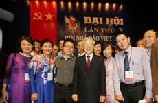 越共中央总书记、国家主席阮富仲致信祝贺越南记者协会成立70周年