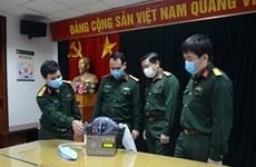 越南108中央军医院制造的呼吸辅助设备