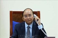 越南政府总理阮春福与俄罗斯总理米舒斯京通电话