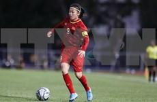 越南女球员黄茹获选成为亚足联抗击疫情公益活动成员