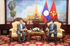 越南向老挝人民赠予新冠肺炎的防疫物资
