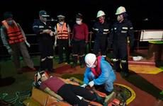 越南搜救力量功抢救海上遇险的菲律宾船员