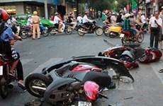 越南交通事故三项指数呈下降趋势