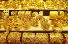 越南国内黄金价格略增  卖出价超过4800万越盾