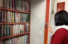 河内市首个免费取书机投入使用