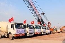 广宁省绿门1号桥建设项目动工兴建