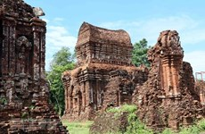 印度专家为越南美山世界文化遗产核心区修缮工作提供支持