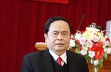 越南祖国阵线中央委员会主席向佛教大典致贺信