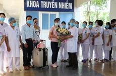 新冠肺炎疫情:宁平省最后一名患者痊愈出院