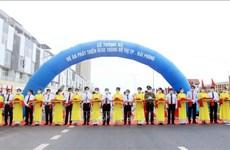 海防城市交通发展项目正式通车