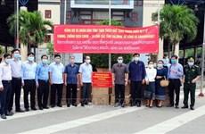承天顺化省向老挝沙湾拿吉省提供医疗设备和物资