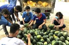 永隆省寻找农产品销售新市场