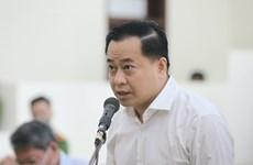 岘港市两名原领导和潘文英武勾结操纵土地价格案件二审开庭