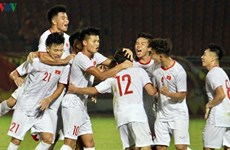 越南男足U19队力争打进2021年U20男足世界杯